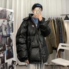 Unisex Hooded Padded Coat