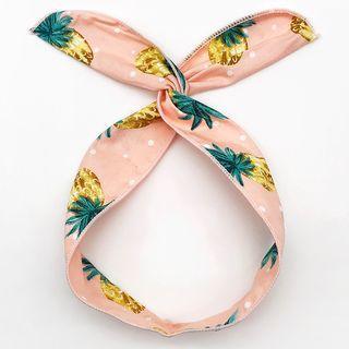 Pineapple Print Wired Headband