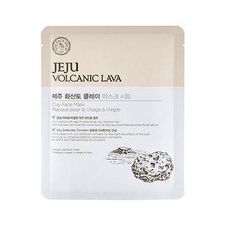 The Face Shop - Jeju Volcanic Lava Clay Face Mask 1pc