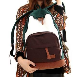 Contrast-color Backpack