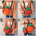 Strawberry / Carrot Shaped Crossbody Bag