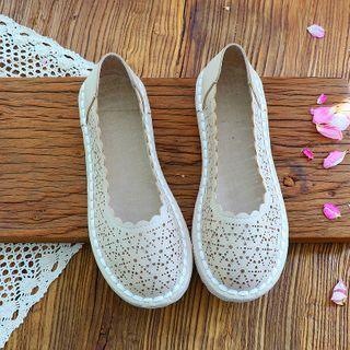 Perforated Scallop Trim Flats