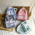 Canvas Tie-dyed Backpack