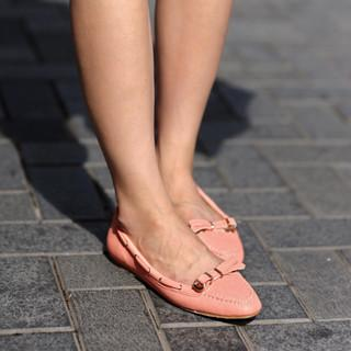 Bow-accent Loafers