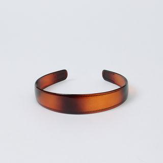 Gradient Acrylic Hair Band Brown - One Size