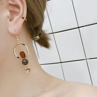 Hoop Drop Earring / Clip-on Earring