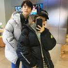 Couple Matching Hooded Quilted Jacket