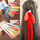 Gradient Ribbon Hair Tie
