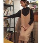 Strappy Midi Knit Dress