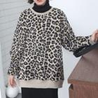 Leopard Printed Pullover