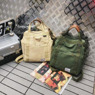 Canvas Multi-way Backpack