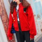 Hooded Zip-up Soldier Jacket