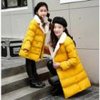 Family Matching Double-breasted Padded Coat
