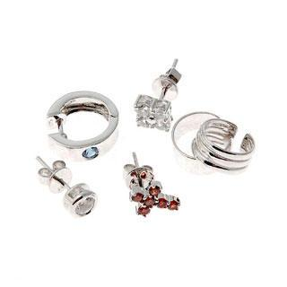 Basix For Him Earrings Set