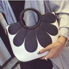 Color Applique Handbag
