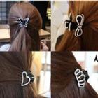 Rhinestone Hair Clamp (various Designs)