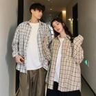 Couple-matching Plaid Shirt