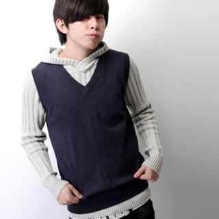 V-neck Knit Vest