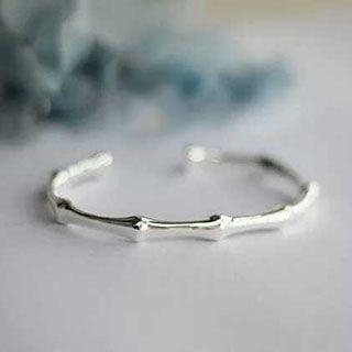 925 Sterling Silver Open Bangle