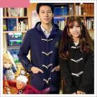 Fate Embroidered Hooded Coat