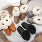 Furry Snow Short Boots