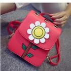 Flower Applique Backpack