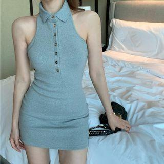 Tank Top Fitted Dress