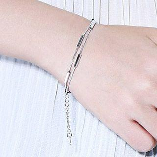 Layered Segment Bracelet / Anklet
