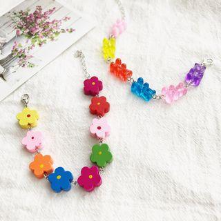 Flower / Gummy Bear Bracelet