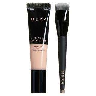 Hera - Black Foundation & Brush Set - 4 Colors #21n1 Vanilla