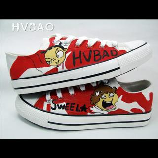 """hvbao"" Canvas Sneakers"