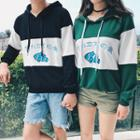 Couple Matching Fish Print Hoodie