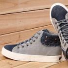 Studded Hidden Wedge Platform Sneakers