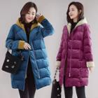 Hood Zip Padded Coat