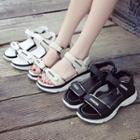 Adhesive Platform Sandals