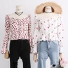Boatneck Floral Shirt