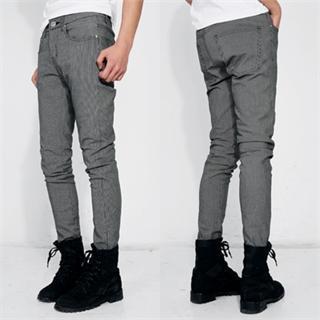 Check Slim-fit Pants