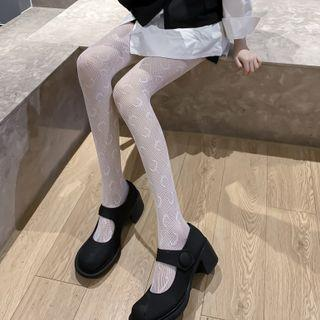 Set Of 2: Lace Tights