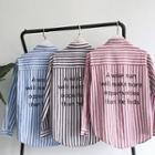 Stripe Loose-fit Shirt