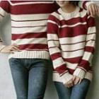 Couple Stripe Sweater