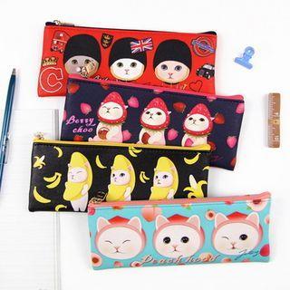 Choo Choo Cat Series Pencil Pouch