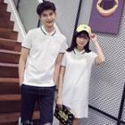 Couple Matching Short-sleeve Polo Shirt / Polo Dress
