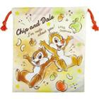 Chip & Dale Drawstring Pouch One Size