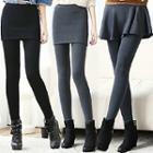 Inset Skirt Leggings (3 Designs)