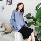 Wavy Edge Sweater