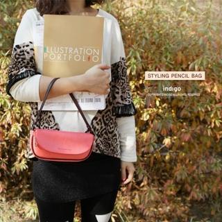 Faux-leather Handbag