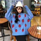 Strawberry Pattern Sweater