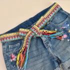 Woven Slim Belt Multicolour - One Size