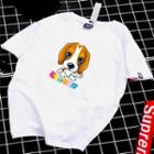 Couple Matching Dog Print T-shirt