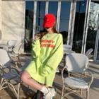 Honey Mustard Sweatshirt Dress